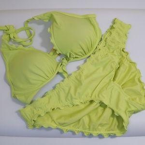 HTF PNWOT Victoria's Secret Bikini 36C Large